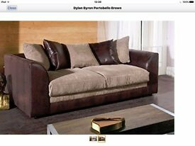 SAME DAY FAST DELIVERY //// Brand New Byron 3 nd 2 sofa or corner sofa in jumbo cord fabric