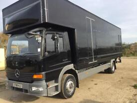 Mercedes 1523 Lutons on springs choice of 2 ideal conversion horse box race truck