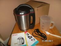 SOUP MAKER .. STANLESS STEEL GREAT DIETs / BABY FOOD IN ALMOST NEW CONDITION