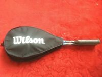 2 Wilson Squash Racquets with Intermediate Ball - Barely Used, Very Good Condition - Collection Only