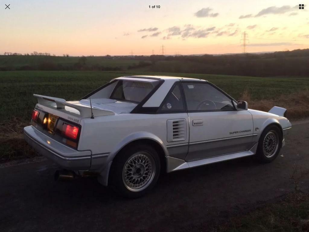 Toyota MR2 MK1 (AW11) Supercharger G-Limited - Classic Import (4A-GZE) | in  Killamarsh, South Yorkshire | Gumtree