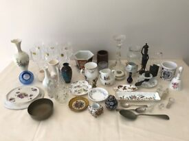 Collection of glassware and china ideal for Car Booters