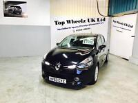 RENAULT CLIO DYNAMIQUE MEDIA NAV, 63 PLATE, 29000 MILES, IMMACULATE, FINANCE AVAILABLE.