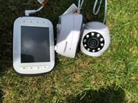 Motorola wireless baby camera monitor.