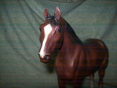 Breyer Traditional Quarter Horse Yearling - textured sandy bay