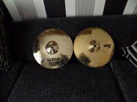 "sabian 14""hand hammered hhx power hi hat cymbals"