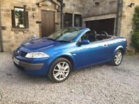 Renault Megan coupe convertible! Absolute stunning. Long mot. Perfect for summer. Bargain