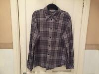 Carhartt Shirt Checked, Grey, Black, White. Size XL