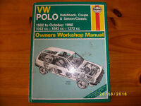 VW Polo Workshop Manual. 1982 to Oct1990