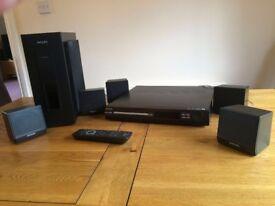 Philips surround sound system dvd divx player