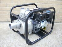 "Brand New 4-Stroke 75mm 3"" inch Petrol water pump. 196cc 6.5HP"