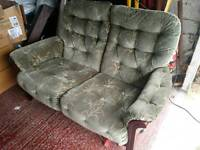 Double sofa for free