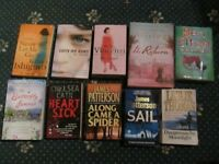 2ND HAND BOOKS FOR SALE FOR ANIMAL CHARITY - ALL 50P EACH PLEASE - THANK YOU