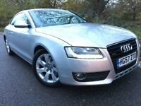AUDI A5 3.0 TDI QUATTRO DIESEL MANUAL 2008 (57) FULL SERVICE HISTORY XENONS LEATHER PARKING SENSORS