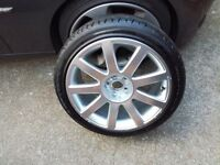 Audi S3 ,TT genuine 18 alloy with new tyre Michelin 225 40 18 pcd 5x100
