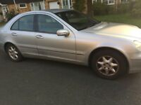 Mercedes-Benz C class petrol silver automatic