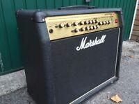 Marshall Valvestate 2000 AVT 100W Angled Combo Amp, c/w Foot Controller