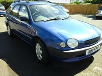 Cheap car cheap estate toyta corolla also Vauxhall Corsa