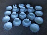 St Malo Vintage / Retro 8 Piece Tea Set Dishwasher safe