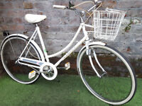 """1991 Raleigh Caprice, 21"""" frame, 3 speed town bike. Good condition"""