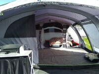 Corvette Outwell 7ac airbeam tent, only used once, fantastic tent, including pump and foot print