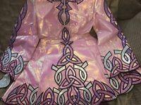 Irish dance dress £150 *Offers accepted* Traditional piece accomipined kick pants,tiara,wig
