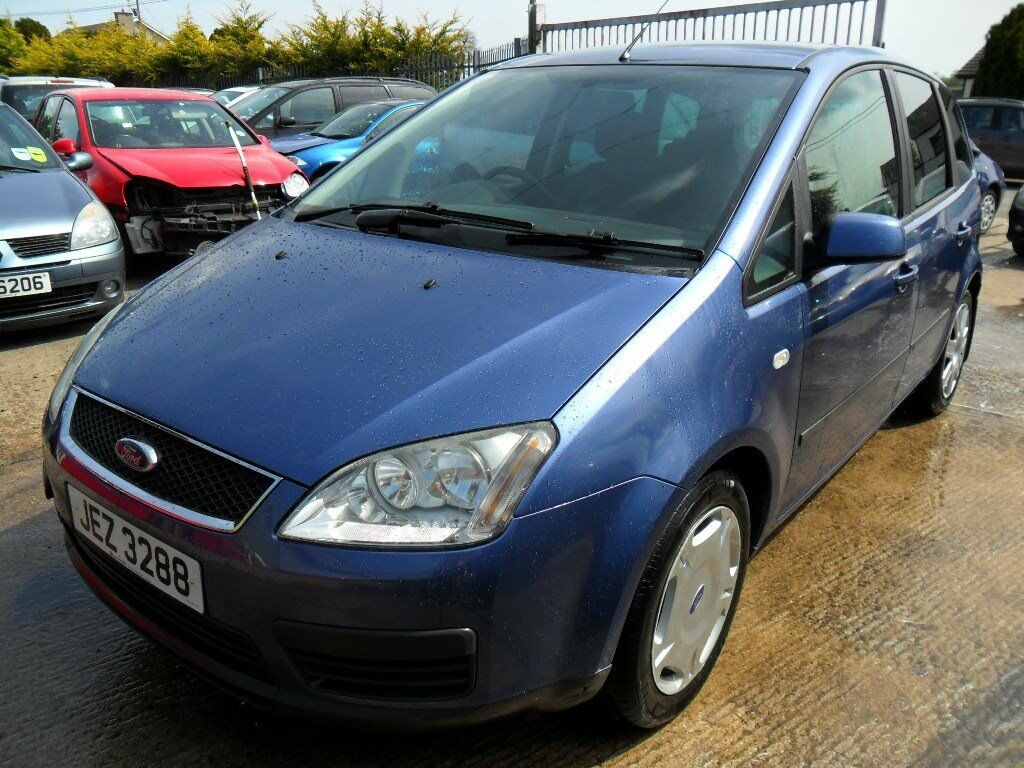 ford focus c max 1.6 tdci 2006 blue 90000 miles full mot