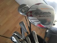 Callaway x18 irons bag woods and putter