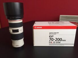 Canon EF 70-200 mm f/4.0 L IS USM Lens