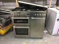 BELLING DB4 90DFT PROF STAINLESS STEEL COOKER