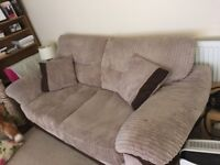2 x2 seater sofa's for sale. 1 is a sofa bed.