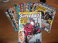 'Superbike' Motorbike Magazine x14 Issues