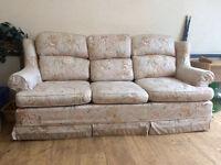 FREE: 3 piece Sofa Suite, very good condition