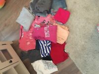 Sorting of clothes size 8