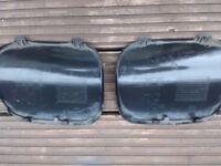 BMW X5 e53 rear bumper cover