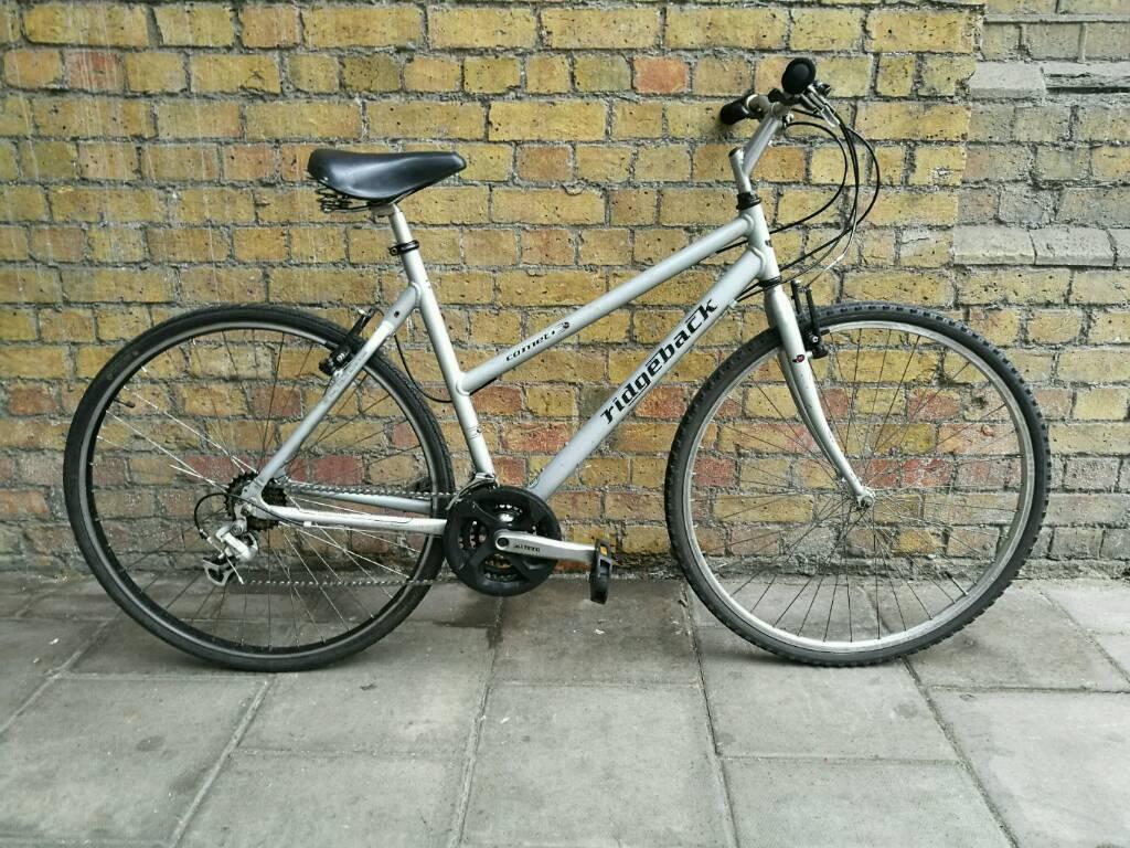 Women S Ridgeback Comet Hybrid Bike Receipt In Tower Bridge