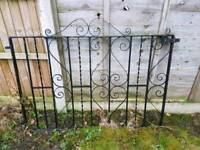 10ft wrought iron gate