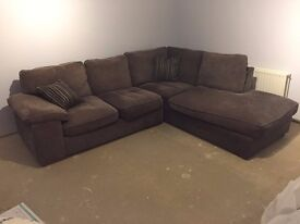 Grey Corner Sofa in great condition