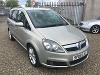 Vauxhall Zafira 1.9 CDTi 16v Design 5dr / Diesel / 7 Seater