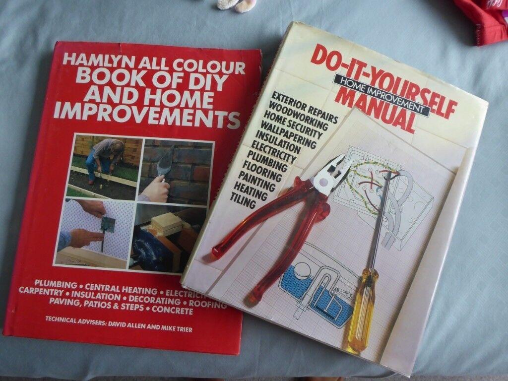 Two hardback diy home improvement books in ferndown dorset heather solutioingenieria Gallery