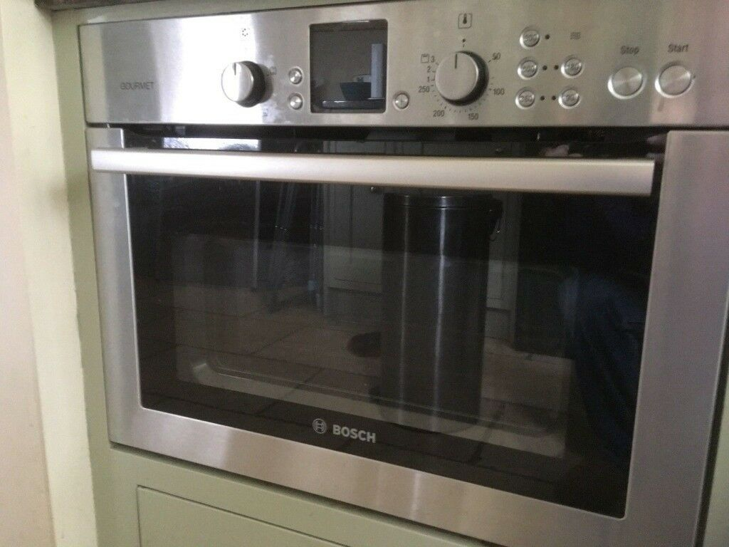Bosch Hthb84k Integrated Built In Combination Microwave Oven Brushed Stainless Steal Hbc84k550b