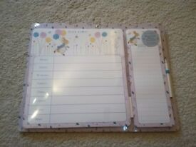 Peter Rabbit Magnetic Meal Planner & Shopping List - Brand New in Packaging