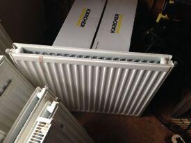 Double-Panel Single Convector Radiator 600 x 700mm White