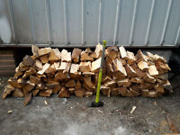 Split Firewood for Collection