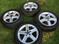 FORD FOCUS ALLOY WHEELS ... x4 VERY GOOD CONDOLITIONS