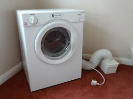 White Knight C38AW Small Tumble Dryer in Like New Cond - Costs £140 New
