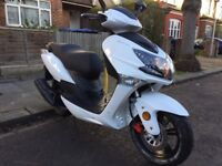 "Lexmoto fmx 125. Mint ""as new"" condtion. v quick + reliable. V low miles.. Fantastic runner. £695."