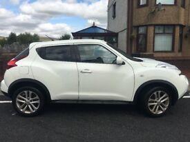 2012 Nissan Juke Acenta Sport(117) 1598cc 5 Dr 97,000 Miles. M.O.T. until Nov 2018