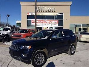 2015 Jeep Grand Cherokee Limited 8.4navigation Leather