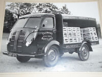 1950s Original Photograph Guinan's Liverpool Bottlers Of Slater St Austin Lorry sign